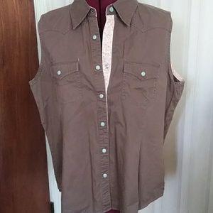 Bit & bridle western shirt